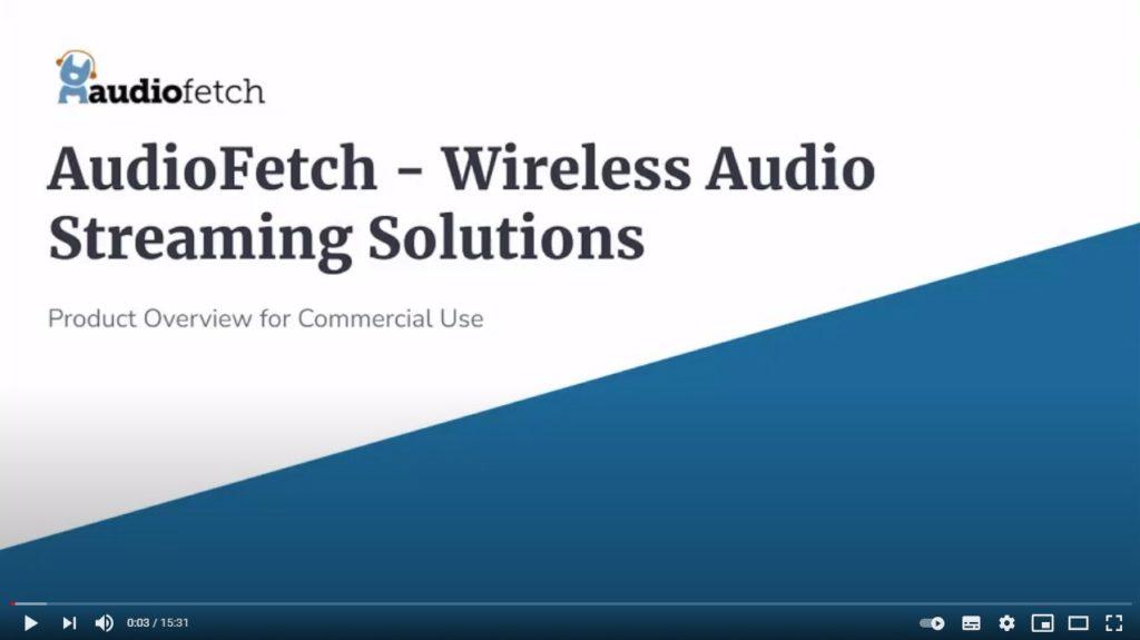 AudioFetch Presentation